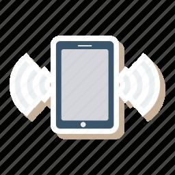 call, media, mobile, phone, smartphone, telephone, video icon