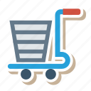 buy, cart, commerce, retail, sell, shop, shopping