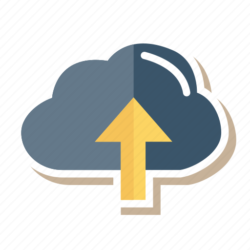 cloud, computing, connection, data, network, upload, weather icon