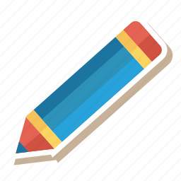 edit, education, learning, pen, pencil, stationery, writing icon