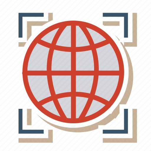 business, focus, global, goal, social, target, vision icon