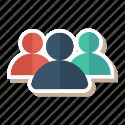 communication, group, meeting, people, team, teamwork, users icon