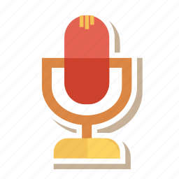 audio, mic, microphone, music, record, sound, voice icon