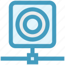 camera, communication, connection, hosting, network, web icon