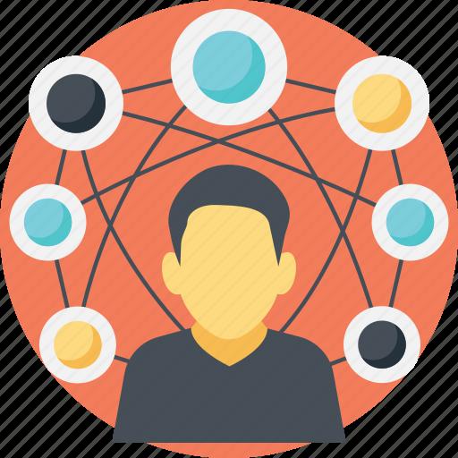 digital community, social community, social connections, social connectivity, social network icon