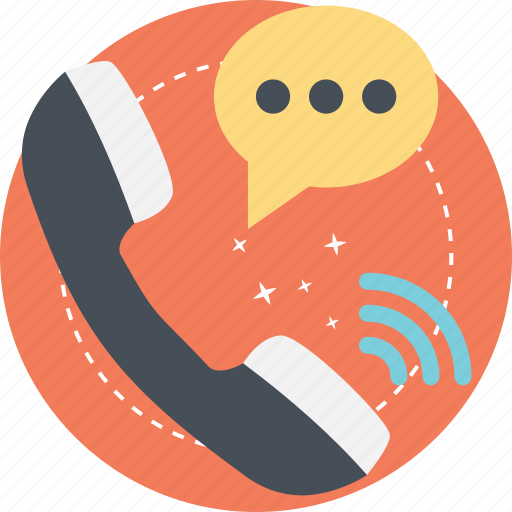 call center concept, contact us, customer support, telephonic conversation, voice call icon