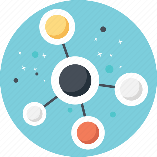 internet connection, network, network connection, network design, network molecular structure icon