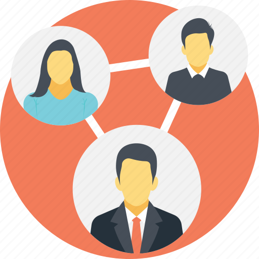 connection, people connection, social connection, social group, social network icon