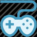 computer game, controller, game, gaming, joypad, joystick, video games icon