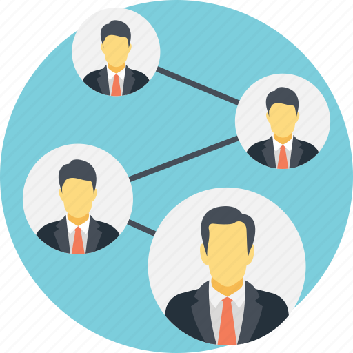 people connections, people network, social group, social network, social team icon