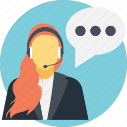 contact us, customer support, live support, online support, technical support icon