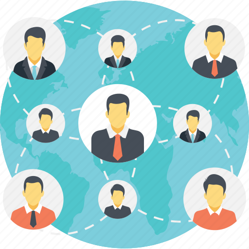connecting people, global connections, global network, social media connections, social network icon