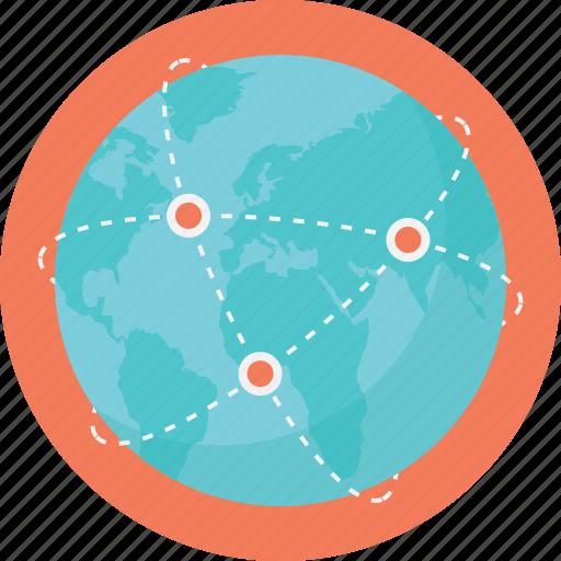 global network connection, global network connections, global technology, telecom, world telecommunication icon