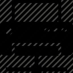 inkjet, laser, printer, printing, shared printer icon