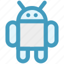 android, application, astronomy, logo, mobile, robot, space icon