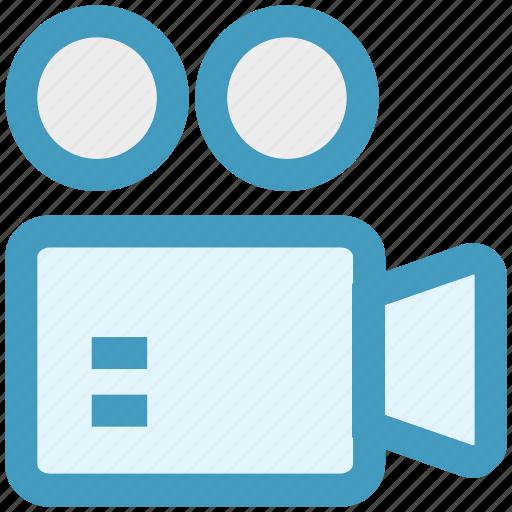 cam, camcorder, camera, movie, shooting, video, video camera icon