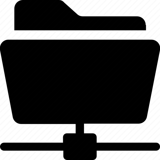 data, folder, network, share folder, storage icon