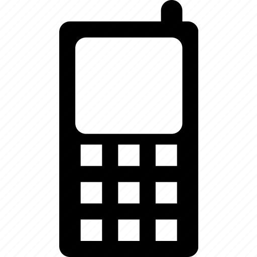 cellphone, message, mobile, old phone, phone icon icon