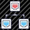adsl, broadband sharing, connection sharing, connection transfer, ethernet sharing, internet sharing, network port icon