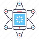 mobile connection, mobile network, phone network, smartphone connection, smartphone network icon