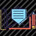 correspondence, envelope, letter, mail, message, newsletter icon