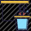 conference, meeting, presentation, seminar, speech icon