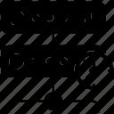 data server, database, datacenter, proxy server, server rack icon