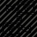 connection error, disconnected, lost connection, network error, wifi error icon
