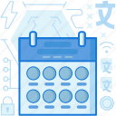 appointment, calendar, date, day, month, notification, reminder icon