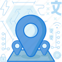 destination, gps, location, marker, navigation, pin