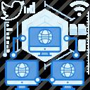 computer, internet, monitor, network, screen, share, sharing