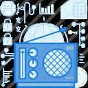 audio, device, entertainment, network, radio, sound