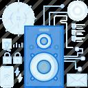 audio, device, entertainment, music, sound, speaker