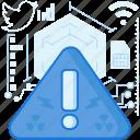 alert, danger, error, exclaimation, network, notification, warning