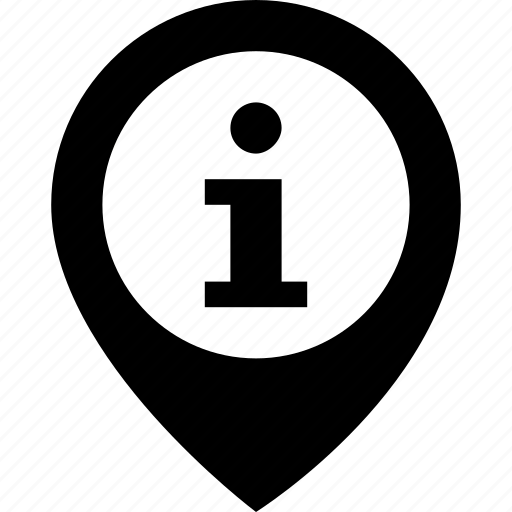gps, info, location, location pin, navigation icon