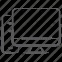 pc, desktop, computer, home computer, personal computer icon