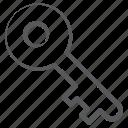 access, door key, key, retro key, safety, unlock