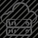 cloud data, cloud database, cloud hosting, cloud server, cloud storage