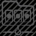 network folder, password folder, remote folder, shared directory, shared folder