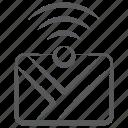 correspondence, communication, letter, envelope, internet mail icon