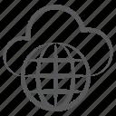 cloud computing, cloud technology, global cloud network, universal network, worldwide network