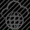 cloud computing, cloud technology, global network, universal network, worldwide cloud network