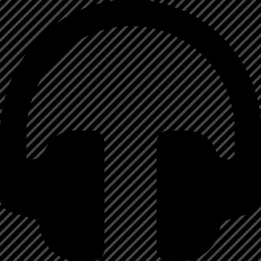 earphones, earspeakers, gadget, headphone, music icon