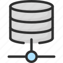 connection, data, database, lan, network