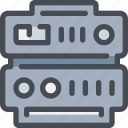connect, database, device, hosting, network, server icon