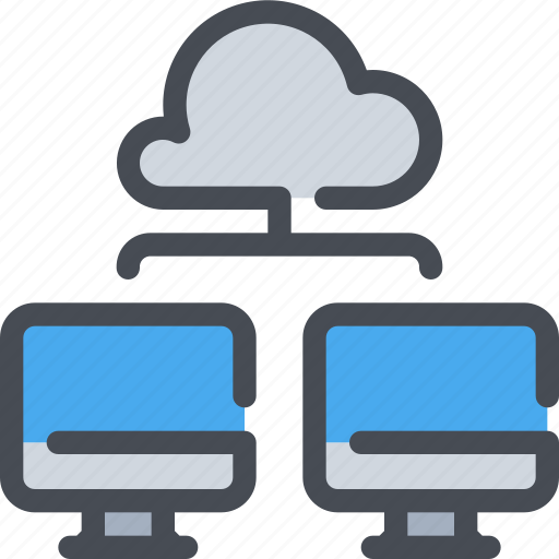 Cloud, computer, connect, database, network icon - Download on Iconfinder