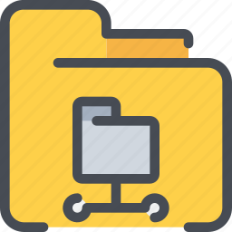 connect, database, document, file, folder, network icon