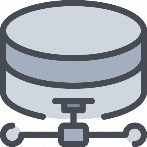 connect, database, network, server icon
