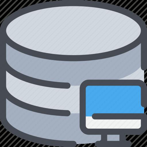 Computer, database, network, server icon - Download on Iconfinder
