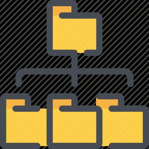 connect, database, documnet, file, folder, network icon